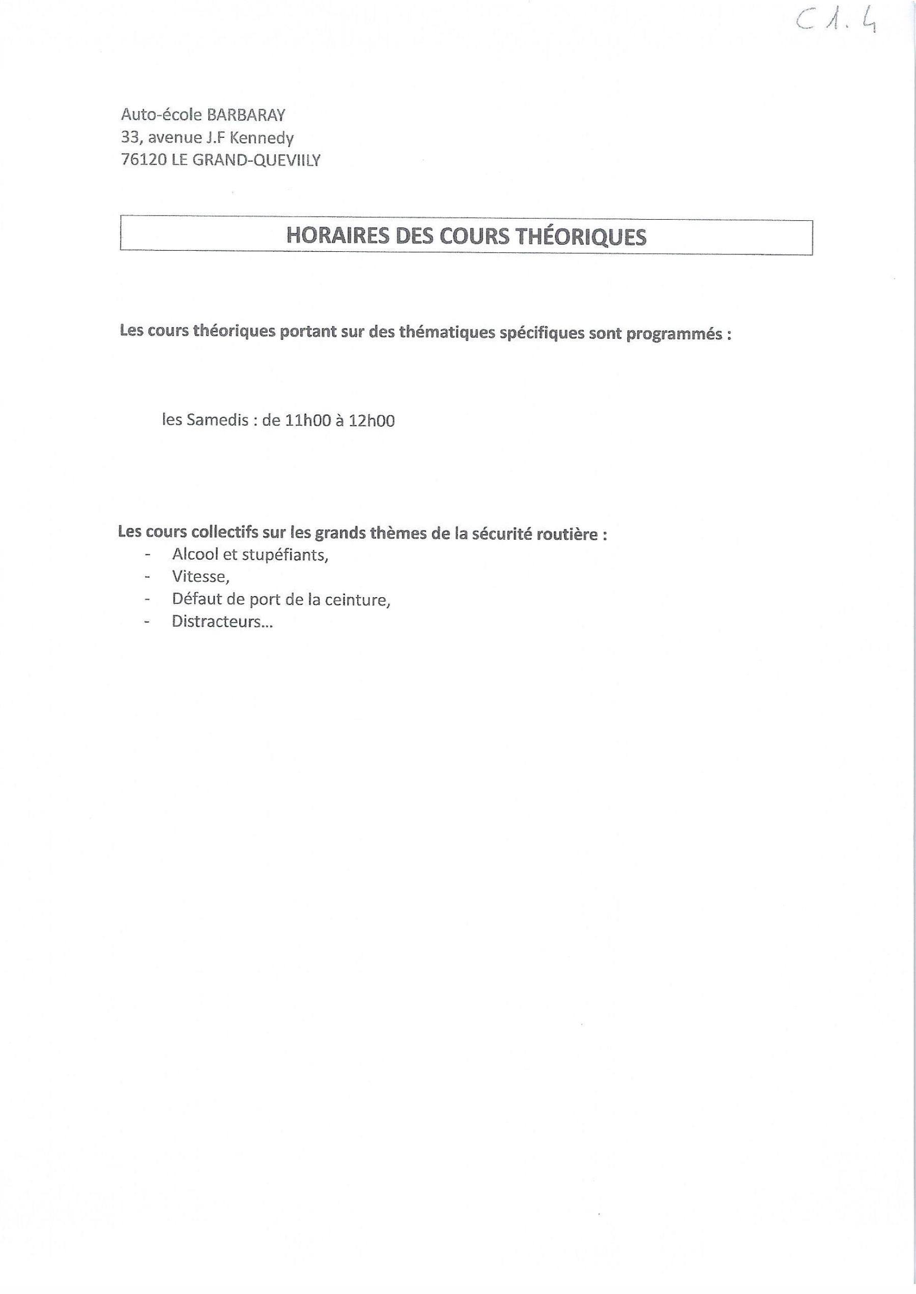 HORAIRES-DES-COURS-THEORIQUES
